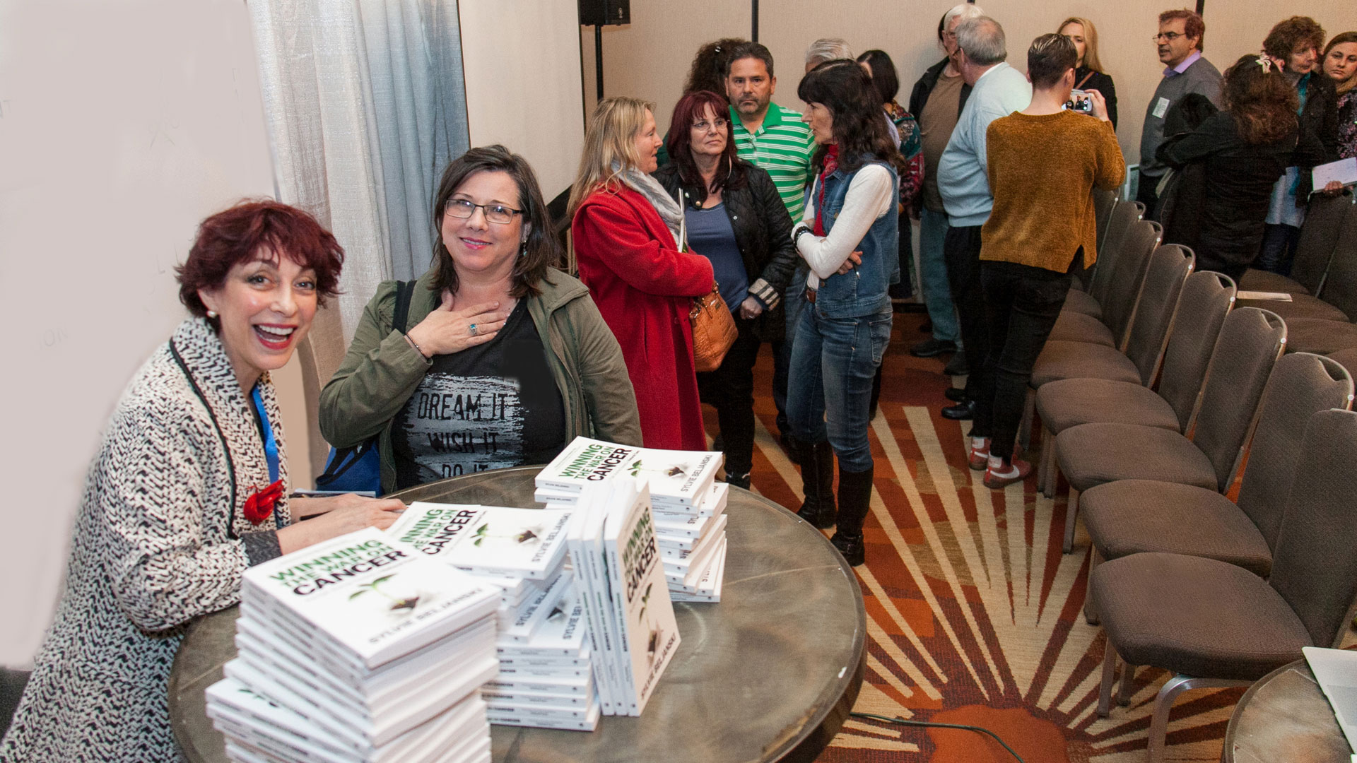 Winning the War on Cancer Book Signing Sylvie Beljanski